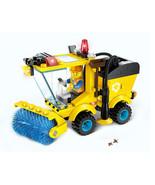 Kids Educational Toys 102pcsset Sweeper Model Assembly Building Blocks Kit - $15.41