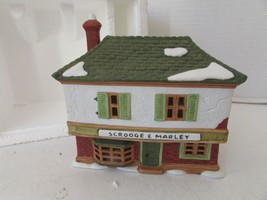 DEPT 56 65005 HERITAGE SCROOGE & MARLEY COUNTING HOUSE 1986 NO CORD/NO S... - $21.51