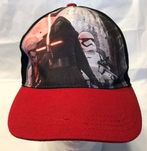 """Star Wars Episode 7 Kylo Ren Youth Hat """"Crush the Resistance"""" Black/Red (77-5) - $9.79"""
