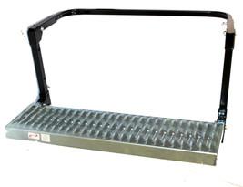 Tire Wheel Step Up Adjustable Ladder Non-Slip Platform 300lbs 24ft Truck RV - $49.49