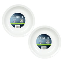 Corelle Livingware 9-Inch Deep Dish Pie Plate, Winter Frost White - 2 Pack - $30.28