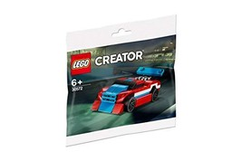 LEGO Creator Race Car Red, White, Blue polybag (30572) - $5.99