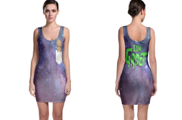 I AM GROOT BODYCON DRESS - $23.99+