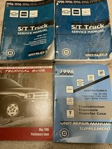1996 chevrolet s10 blazer gmc jimmy sonoma truck service shop repair manual - $79.14
