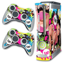 Skin Decal Wrap for Xbox 360 Original Console & Controller Fap Wrap CHRI... - $9.85