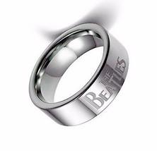 BEATLES LOGO STAINLESS STEEL RING MEN'S SIZE 9-10-12 LENNON MCCARTNEY - £12.25 GBP