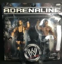 2007 Jakks Pacific WWE Adrenaline Sylvester Terkay and Elijah Burke #21 - $23.74