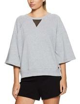 Calvin Klein Women's Flat Back Jersey Sweatshirt Mesh Back Insert, XL $59 - $37.49
