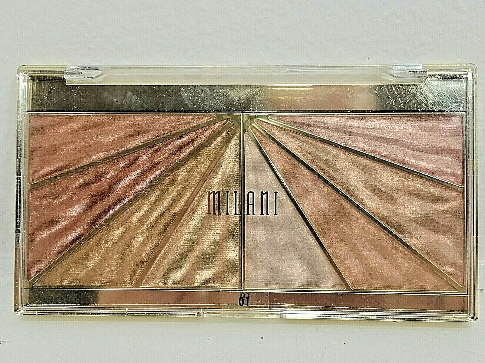 Milani 01 Luminoso Glow Shimmering Face Palette New Sealed Package - $12.85