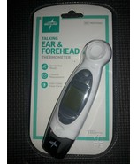Medline Talking Ear & Forehead Thermometer 1 second measurement ,fever a... - $20.82