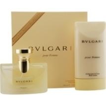 Bvlgari Pour Femme 3.4 Oz Eau De Parfum Spray 2 Pcs Gift Set image 1