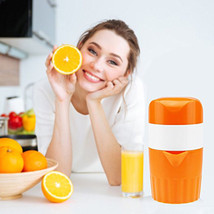 Portable Manual Lemon Juicer Mini Fruit Juicer Hand Lemon Orange Citrus ... - $16.00