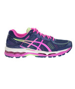 Asics Gel-Kayano 22 Women's Shoes Indigo Blue-Pink Glow-Pistachio t597n-4935 - $159.95