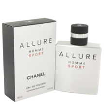 Chanel Allure Homme Sport Cologne 3.4 Oz Eau De Toilette Spray  image 1