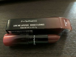 Mac Cosmetics Love Me Lipstick ~ Coffee & Cigs ~ Nib - $16.99