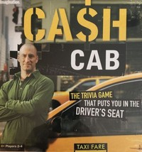 CASH CAB Trivia Board Game *Brand New* Sealed Trivia Family Fun Free Shi... - $32.99