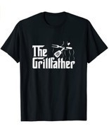 The Grillfather BBQ Grill & Smoker Barbecue Chef T-Shirt - $14.99