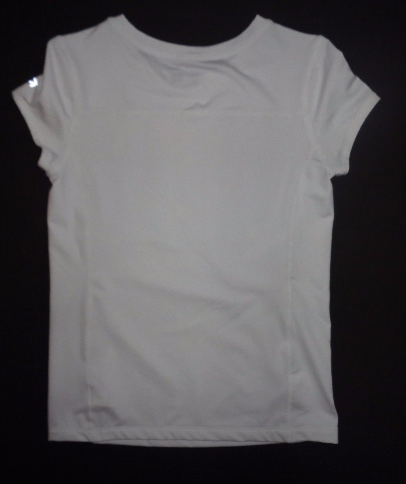 GAP Fit Dry White Multi-color GO! T-Shirt Sz XXL NWOT image 4