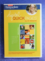 Creating Keepsakes: Digital Quick Pages by Ali Edwards  NEW in Shrink Wrap - $9.79