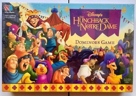 Disney Hunchback of Notre Dame : Dominoes Game : New : Milton Bradley - $37.91