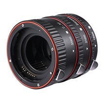 Macro Extension Tube for Canon,BISOZER Plastic Electronic AF Macro Exten... - $21.12