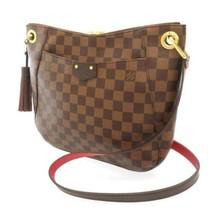 LOUIS VUITTON South Bank Damier Canvas Ebene N42230 LV Shoulder Bag France - $1,464.85