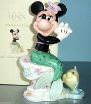 Lenox Disney Minnie Mouse Under the Sea The Little Mermaid Figurine New ... - £45.95 GBP
