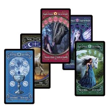 Legendary Tradition Tarot Decks 78 Cards English Spanish French German S... - $19.79