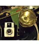 Brownie Vintage Camera with Flash - $10.95