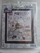 "NEW Design Works Counted Cross Stitch Picture Kit Stitching ABC 2731 16""x20"" NIP - $29.99"