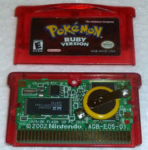 Pokemon Ruby Version (Nintendo Game Boy Advance, 2003) AUTHENTIC - NEW B... - $34.99