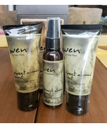 New Wen Hair TRAVEL KIT SWEET ALMOND MINT Treatment Mist 2 Conditioners ... - $19.99
