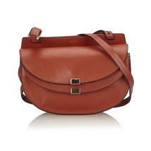 Vintage Chloe Brown Others Leather Georgia Crossbody Bag Hungary - $672.46