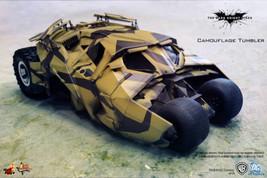 HOT TOYS Batman Camouflage Tumbler Dark Kniight Rising Hero Figure G47 - $1,839.98