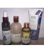 4 Pc Bath & Body Works Mineral Co Moonstone Set- Oil, Cream, Mist & Bath... - $33.50