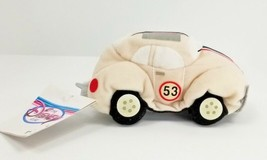Disney Store Plush Beanie HERBIE The LOVE BUG 53 Beetle Car Disney Store... - $15.59