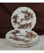 "Johnson Brothers England THE OLD MILL 6 1/4"" Bread & Butter Plates - 4 - $9.99"