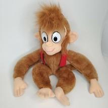 """Aladdin Disney Monkey Abu 1992 Doll Plush Stuffed Toy 17"""" Mattel Smoke F... - $24.20"""