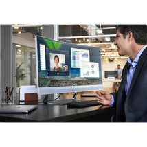 "HP EliteDisplay S340c 34"" 21:9 Curved LCD Monitor 3440x1440 300Nit 6ms Webcam - $899.32"