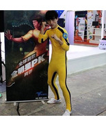 Bruce Lee Bodysuit Lycra Spandex Zentai Catsuit Cosplay Costume - $47.58