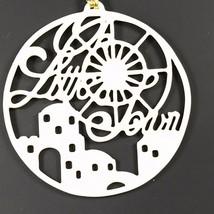 Lenox Christmas Ornament Songs Of Christmas O Little Town 3821310 Porcelain - $47.37