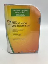 Microsoft MS Office 2007 Home and Student for 3 PCs Full English Retail ... - $24.99