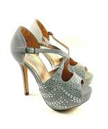 De Blossom Carina-5 Platform High Heel Peep Toe Dress Shoe Choose Sz/Color - $69.00