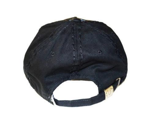 True Religion Men's Black True Logo Womens Baseball Trucker Hat Cap TR1965