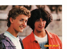 Keanu Reeves Alex Winter teen magazine pinup clipping Bill and Ted's bogus Bop