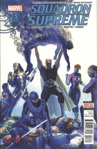 (CB-2) 2016 Marvel Comic Book: Squadron Supreme #3 - $2.00