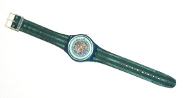 SWATCH Stop SSB100 Jess' Rush 1993 Swiss Made Wristwatch Rubber Strap Vintage image 8