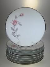 Noritake Rosemarie Salad Plates Set of 9 - $49.51
