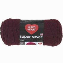 Red Heart Supersaver Yarn in Claret