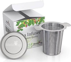 Loose Tea Infuser And Strainer - Premium Stainless Steel - Single Cup -... - $19.99